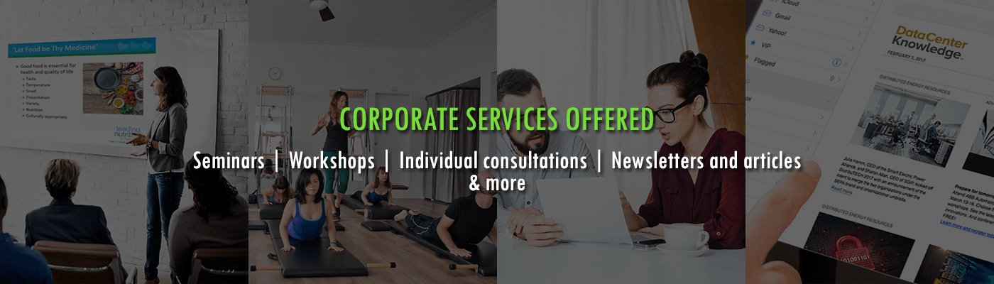 Coporate Services Offered