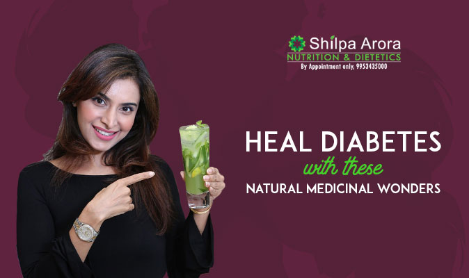 Heal Diabetes With These Natural Medicinal Wonders
